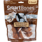 SmartBone Small Peanut Butter Chew Bone (6-Pack) Image 1