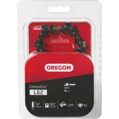 Oregon ControlCut L62 16 In. 0.325 In. 62 Link Saw Chain