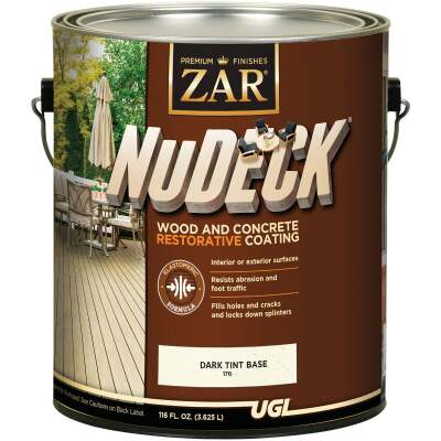 ZAR NuDeck 1 Gal. Dark Tint Base Wood & Concrete Restorative Coating