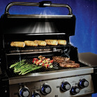 Broil King Regal S 490 Pro 4-Burner Stainless Steel 50,000 BTU LP Gas Grill Image 2