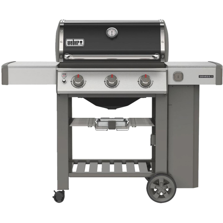 Weber Genesis II E-310 3-Burner Black 39,000 BTU LP Gas Grill Image 1