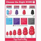 Kong Classic Dog Chew Toy, 15 to 35 Lb. Image 3