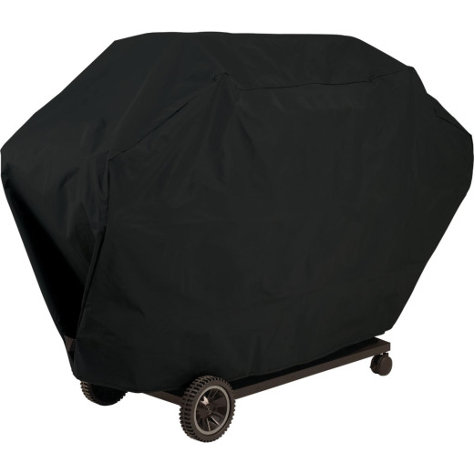 GrillPro 51 In. Black PVC Deluxe Grill Cover