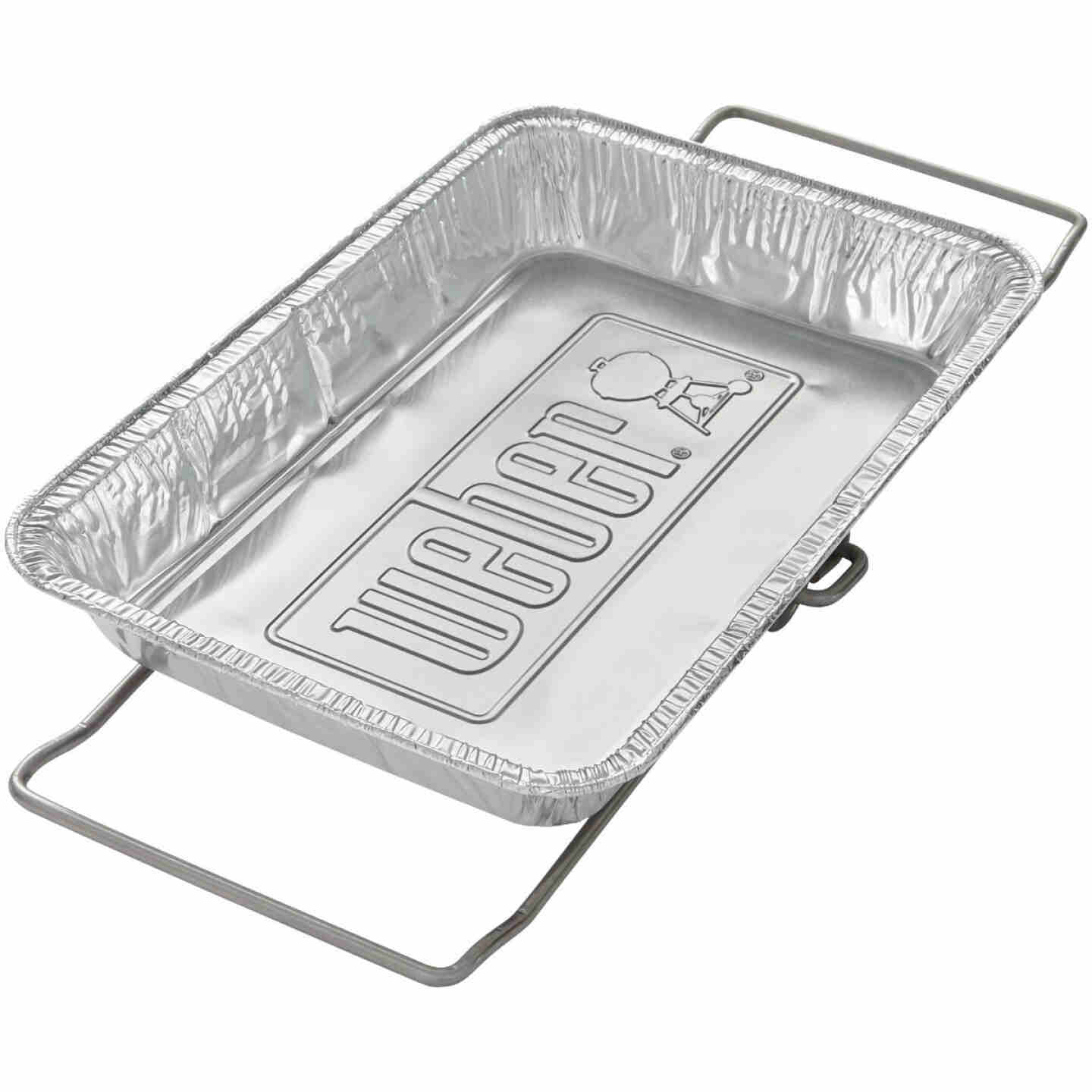 Weber SmokeFire 9.65 In. W. x 13.59 In. L. Disposable Plated Steel Wet Smoke Kit Image 1