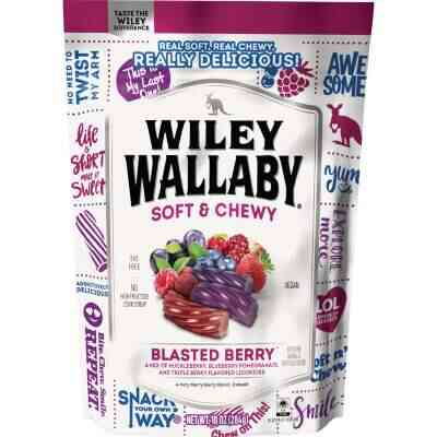 Wiley Wallaby Blasted Berry Liquorice 10 Oz. Candy