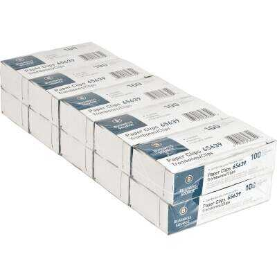 Sparco Saver Jumbo Paper Clips (100 Clips/Box)