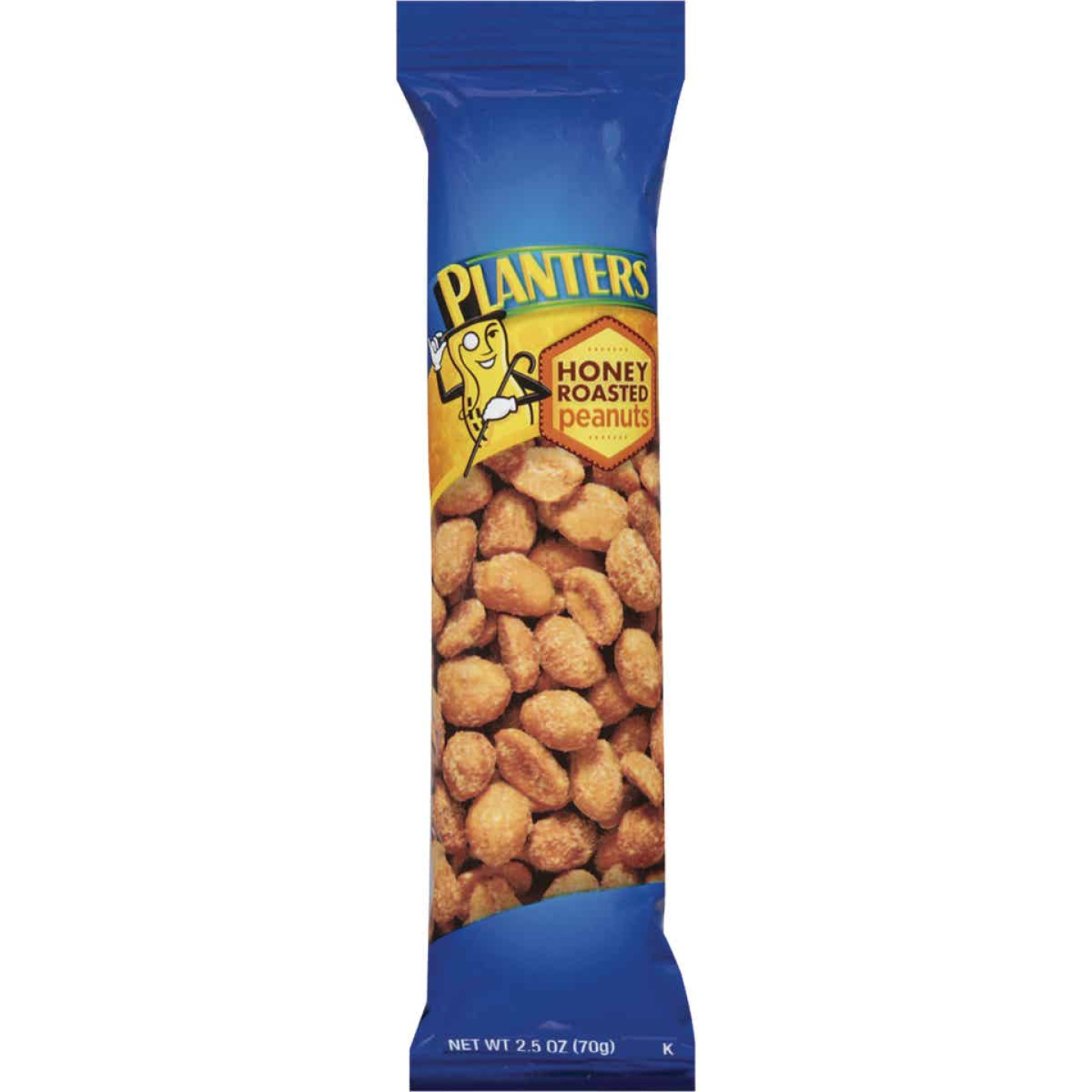 Planters 2.5 Oz. Honey Roasted Peanuts Image 1